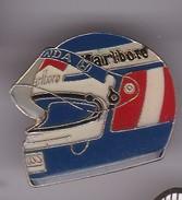 Pin's CASQUE MALBORO - F1