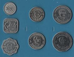 BANGLADESH SET 7 MONNAIES 1 POISHA - 5 TAKA 1974 - 2013 FAO - Bangladesh
