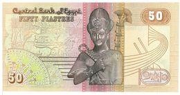 EGITTO - 50 PIASTRE - FIOR DI STAMPA - CARTAMONETA - PAPER MONEY - Egitto