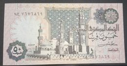 EGITTO - 50 PIASTRE - FIOR DI STAMPA - CARTAMONETA - PAPER MONEY - Egypte