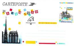 ENTIER POSTAL -  1989 - Notre Dame N° 2582-CP1** - Cartoline Postali E Su Commissione Privata TSC (ante 1995)