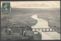 Domme - Environs De Sarlat - Panorama Vallée Dordogne - Voir 2 Scans - France