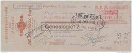 16 1518 ANGOULEME CHARENTE 1935 Champignons De Paris RIEUPEYROUX FRERES Marque CRYPDOR Rue Du Gond A ARBONA De Joinville - Lettres De Change