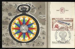Document Pour Un Rallye Philatélique - Lettres & Documents