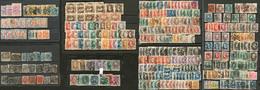 BRESIL. Lot. 1850-1893 (Poste), Valeurs, Nuances, Obl Et Multiples Divers, Des Ex * Et (*), Tous états - Brazil