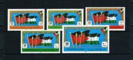 Palestina (Autoridad)  Nº Yvert  1/5  En Nuevo - Palestina