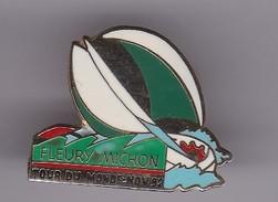Pin's FLEURY MICHON TOUR DU MONDE 1992 - Sailing, Yachting