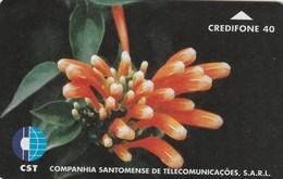 Sao Tome And Principe - Flower 4 - Sao Tome And Principe