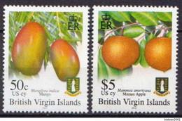 British Virgin Islands Fruits Stamps - Fruit