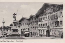 ALLEMAGNE 1953  CARTE POSTALE  DE BAD TÖLZ  MARKSTRASSE - Bad Toelz