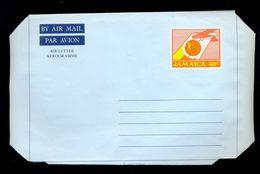 AEROGRAMME * AEROGRAM * AIR LETTER * STATIONERY 40c JAMAICA * MINT - Jamaica (1962-...)