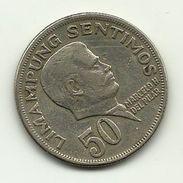 1974 - Filippine 50 Sentimos, - Filippine