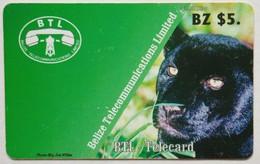 $5 Black Panther - Belize