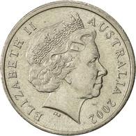 Australie, Elizabeth II, 5 Cents, 2002, TTB+, Copper-nickel, KM:401 - Monnaie Décimale (1966-...)