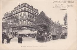 PARIS - Boulevard Saint-Denis Et De Strasbourg - Omnibus Hippomobile Gare St-Lazare - TBE - Transport Urbain En Surface