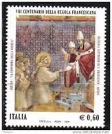 "PIA - ITALIA - 2008 : 800° Della ""Regola Francescana""  - (SAS  3025) - 2001-10:  Nuovi"