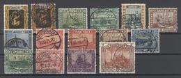 Saargebiet Mi.Nr. 84-97 Freimarken 1922 Gestempelt (20181) - 1920-35 League Of Nations