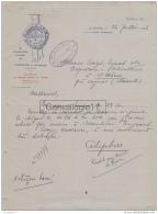 76 1067 LE HAVRE SEINE INFERIEURE 1926 BRASSERIE TORTONI Des Ets FORESTIER - LEFEBVRE Et LE GRAND HOTELLE HAVRE - Fatture