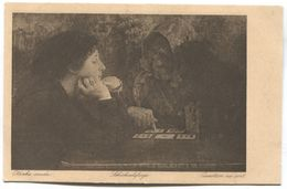 FORTUNE TELLER, Cartomancienne - Playing Cards, Vlaho Bukovac Painter, Art Old PC - Carte Da Gioco