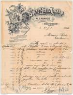 96 1660 ALGERIE TIZI OUZOU ( Kabylie ) 1912 GRAND HOTEL LAGERDE A FONTAS - Unclassified