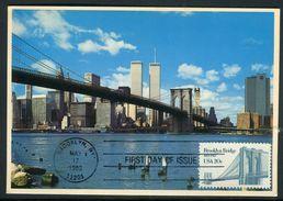 Etats-Unis - Carte Maximum 1983 - Pont De Brooklyn - Maximumkarten (MC)