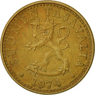 Finlande, 20 Pennia, 1974, TTB, Aluminum-Bronze, KM:47 - Finland
