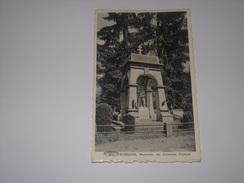 Tintigny.Rossignol.Monument Des Coloniaux Français.Format Cpa. - Tintigny