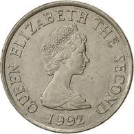 Jersey, Elizabeth II, 10 Pence, 1992, SUP, Copper-nickel, KM:57.2 - Jersey