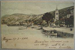 CROATIA - HRVATSKA, HAFEN VON GRAVOSA - OBALA GRUSKA, USED 1900 - Croazia