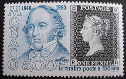 LOT R1537/91 - 1990 - MONACO - LE TIMBRE POSTE A 150 ANS - N°1719 NEUF** - Monaco