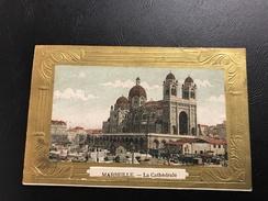 MARSEILLE La Cathedrale - Cadre En Relief - Chocolat D'Annecy Au Verso - Notre-Dame De La Garde, Ascenseur
