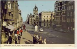 EDINBURGH HIGH STREET AND ST. GILES' CATHEDRAL - Midlothian/ Edinburgh