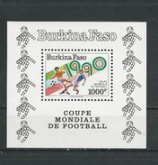 BURKINA FASO  Scott 893 Yvert BF38  (bloc) ** Cote 10,50$ 1990 - Burkina Faso (1984-...)