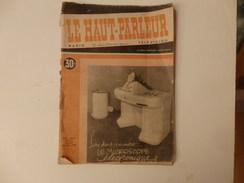 """Journal Sur """"Le Haut-Parleur"""" Du 20 Mai 1948. - Journaux - Quotidiens"""