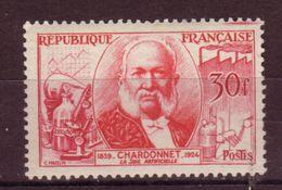 FRANCE - 1955 - YT N° 1017 - ** - Inventeurs Célèbres - Chardonnet - France