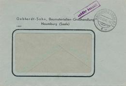 NAUMBURG - 1945 , Gebühr Bezahlt - Zona Soviética