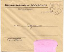 Omslag Enveloppe - Gemeente Booischot - Stempel 1957 - Enveloppes
