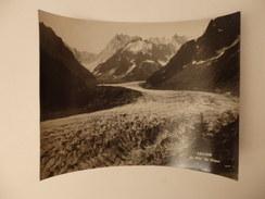 Photo 24cm/18cm Sur La Mer De Glace En Savoie. - Photos
