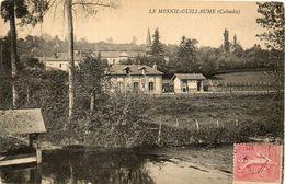 CPA - Le MESNIL-GUILLAUME (14) - Aspect Du Quartier De La Gare En 1907 - Sonstige Gemeinden