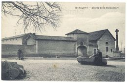Cpa Marclopt - Entrée De La Maisonfort - France