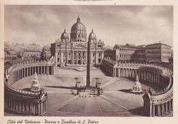 CITTA DEL VATICANO. PIAZZA E BASILICA DI S. PIETRO. ITALIA ITALY ITALIE-BLEUP - Vaticaanstad