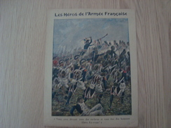 COUVERTURE DE CAHIER LES HEROS DE L'ARMEE FRANCAISE - Book Covers