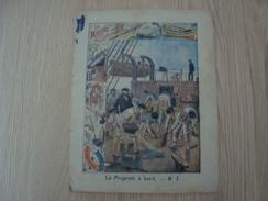 COUVERTURE DE CAHIER LA MARINE MILITAIRE LA PROPETE A BORD - Book Covers