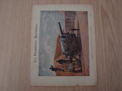 COUVERTURE DE CAHIER LES FRONTIERES MARITIMES LE HAVRE - Book Covers