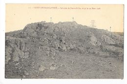 SAINT-GEORGES-d'URFE  (cpa 42)  Calvaire De Pierre-folle, érigé Le 22 Mars 1908 -   - L 1 - Other Municipalities