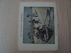 COUVERTURE DE CAHIER LES FRONTIERES MARITIMES FREJUS - Book Covers