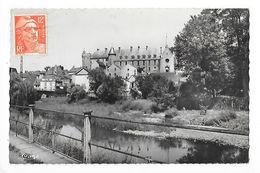 LAPALISSE   (cpa 03) La Rivière, La Besbre - Vue Généraledu Château -   - L 1 - Lapalisse