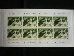 Carnet - Belgique/België 1963 - Emission Centenaire De La Croix-Rouge - Carnets 1953-....