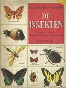 ENCYCLOPEDIE IN ZEGELS N° 10 - DE INSEKTEN ( VLINDERS BUTTERFLIES PAPILLON - KEVERS COLEOPTERA BEETLES ) 1957 - Encyclopedia