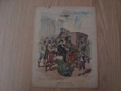 COUVERTURE DE CAHIER PARIS ARRESTATION DE BROUSSEL - Book Covers